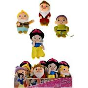 6just Play Snow White Stylized Bean Plush Toy - Assorted Case Pack 60