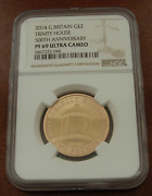 Great Britain 2014 Gold 2 Pounds Ngc Pf69uc Trinity House Mintage - 375