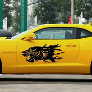 2pcs Car Body Panther Sticker Self-adhesive Side Truck Vinyl Graphics Decal