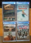 Sports Illustrated 1954 Buy One Or Buy Complete Set - Many Cgc Highest Grade