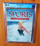 Sports Illustrated 1954 Nelson First Swimsuit Cgc 8.5 Newsstand High Grade