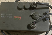 Us Army Signal Corps Control Unit. Army Surplus Untested As-is Wwii-vietnam