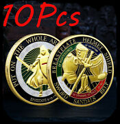 10pcs Put On The Whole Armor Of God Commemorative Challenge Coin Collection Gift