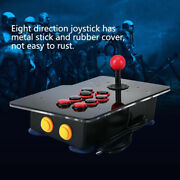 Arcade Fight Stick Wired Usb Game Controller Joystick For Pc Windows 7/8/10 [fs]