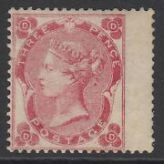 Sg 76 3d Bright Carmine-rose Lettered Dd. A Fine Lightly Mounted Mint Example...