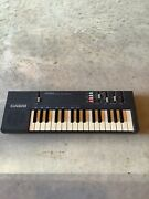 Vintage 1980's Casio Pt-100 Electronic Synthesizer Keyboard - Tested Working