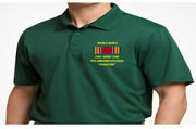 World War Ii Ribbon 9th Armored Divisionembroidered Polo Shirt/sweat/jacket.