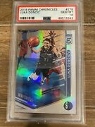 2018 Panini Chronicles 278 Luka Doncic Elite Rookie Holo Psa 10 Gem Free Ship