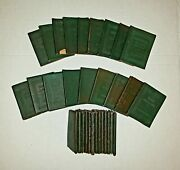 Vintage Little Leather Library Collection 32. Incl. Washington Speeches.1 Repeat