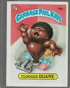 Q10- Rare Old Vintage Retro 1985 Garbage Pail Kids Gpk Topps Collection Card 59a