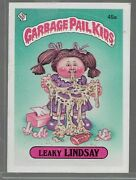 Q21- Rare Old Vintage Retro 1985 Garbage Pail Kids Gpk Topps Collection Card 45a