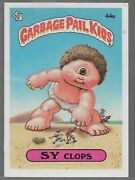 Q27- Rare Old Vintage Retro 1985 Garbage Pail Kids Gpk Topps Collection Card 44a