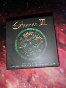 Shenmue Iii Limited Edition Dragon/phoenix Mirror Medallion Coin From Gamestop