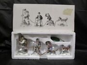 Department 56 Heritage Village - Climb Every Mountain - 4 Hikers - In Box