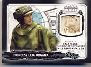 2020 Topps Star Wars Rise Of Skywalker Series 2 Millennium Falcon Relic Leia 1/1