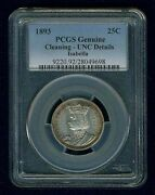 U.s 1893 Isabella Quarter-dollar Silver, Pcgs Certified Uncirculated Details