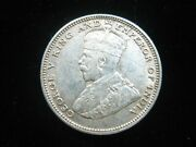 Straits Settlements 20 Cents 1927 Silver British Malaysia Singapore 216 Coin