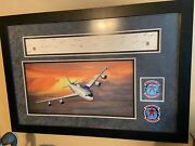 Ironman Squadron Faireconron Three Print With Decal, Patch And All Crew Sigs