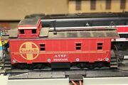 Ho Santa Fe Caboose,sf 999005 Rtr Built 4 Your Layout A.t.s.f Athearn Kadees
