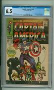 Captain America 100 Cgc 6.5 1st Issue Black Panther App 1968