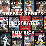 Topps X Sports Illustrated 2021 You Pick Finish Your Set   In Hand