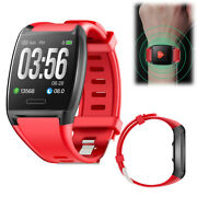 Bluetooth Smart Watch Sports Heart Rate Blood Pressure Monitor Sms Call Reminder
