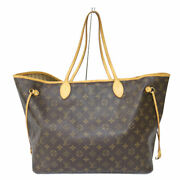 Louis Vuitton M40157 Neverfulle Gm Old Monogram Canvas Brown System No.9499