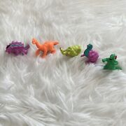 Monster In My Pocket Dinosaurs X 5 Rare Retro Toys T-rex Mammoth 1990s Series 6