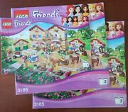 Lego Friends 3185 Summer Riding Camp - Instruction Books Only Directions Booklet