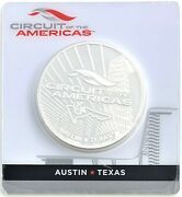 2017 Circuit Of The Americas Solomon Islands 5 2.5ozt. .999 Silver Round Sealed