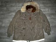 Ww2 Wwii Vintage Us Airforce Ww2 Aircrew Jacket Coyote Fur Type N3 3110 Size Xl