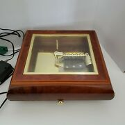 Mr. Christmas - Holiday Symphonium Wooden Music Box And 16 Discs