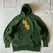 Vintage 70and039s Champion Reverse Weave Sweat Parka Dark Green Size Xl Mss Rare Used