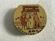 Beautiful Little Orphan Annie Dime Register Bank From 1936 Great Graphics