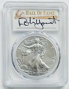 2016 S 1 Silver Eagle Pcgs Ms70 Robin Yount Hof 30th Anniv. Struck At Sf
