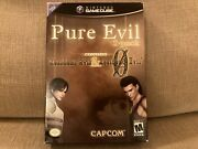 Pure Evil 2-pack Nintendo Gamecube Includes Resident Evil And Re0 Sealed