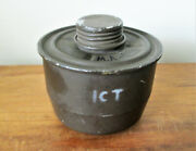 1950s 60s Belgian Army Cf51 Nato Gas Mask Filter Anp M51