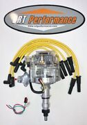 Ford Inline Straight 6 Cyl 65-76 240 300 4.9l Hei Distributor + Yellow 8mm Wires