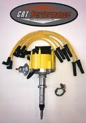 Chevy Inline 6 - Straight 6 194-216-235 Hei Distributor Yellow And Plug Wires Usa