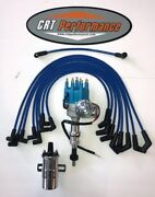 Sbf Ford 351w Windsor Small Cap Electronic Hei Distributor Upgrade Kit - Blue