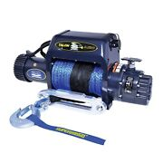 Superwinch 1695211 Alon 9.5isr Winch 9500 Lbs 3/8 In X 80 Ft Synthetic Rope