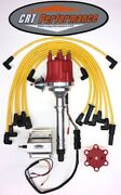 Chevy Gmc 4.3l 262 Efi To Carb Swap Hei Distributor + 60k Coil + Taylor Wires