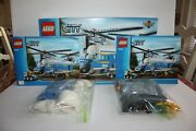 Lego 4439 Heavy-duty Helicopter 100 Complete With Box And Instructions