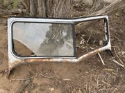 1951 Willys Jeepster Windshield Frame Oem, Some Rust, But Solid.