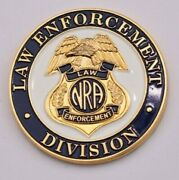 Nra National Rifle Association Law Enforcement Division Challenge Coin
