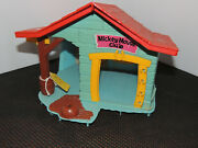 1976 Weebles Mickey Mouse Clubhouse Toy Playset House Only