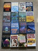 Lot Of 16 Catherine Coulter Hardcover Books