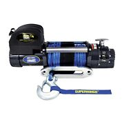 Superwinch 1612201 Talon 12.5sr Winch 12500 Lbs 3/8 In X 80 Ft Synthetic Rope