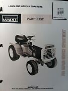 Montgomery Ward 16 Tractor Parts And Twin Engine Service 2 Manuals Gil-33416a