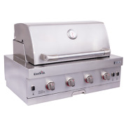 New Char-broil 463278519 Medallion Series 4-burner Built-in Gas Grill